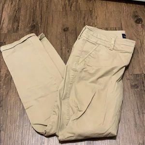 AE skinny khaki pants
